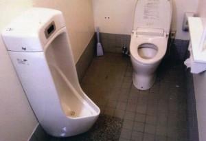 トイレ大小混在